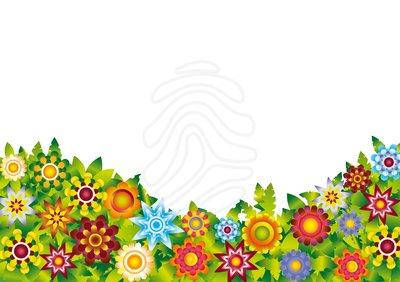 400x282 Background Clipart Flower Garden