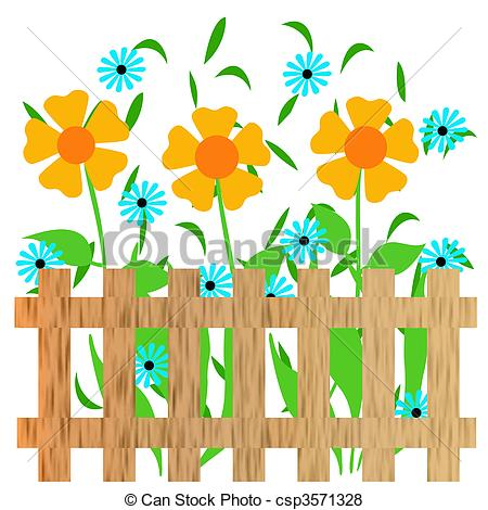 450x470 Garden clipart drawing
