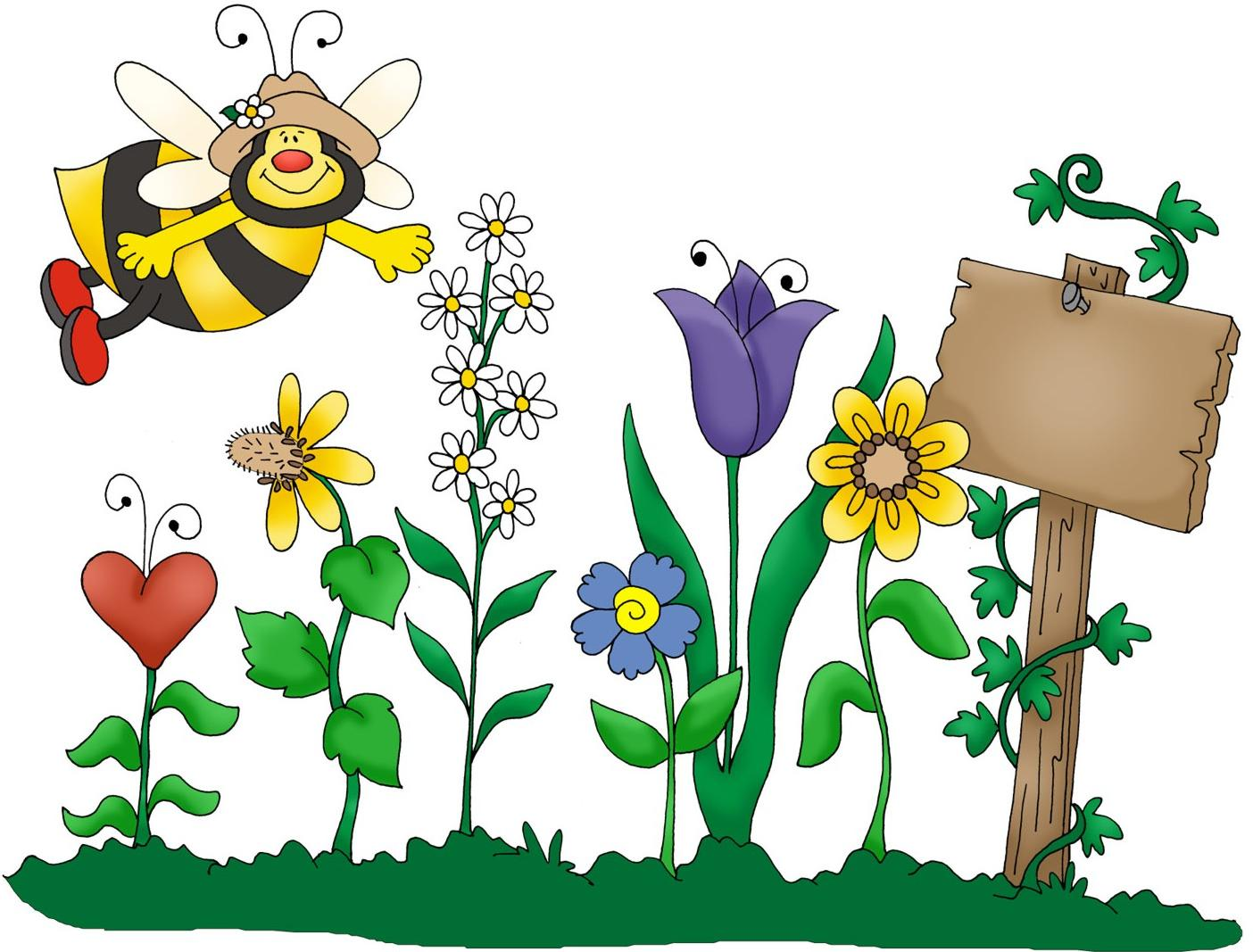 1404x1067 Best Flower Garden Clipart Photos