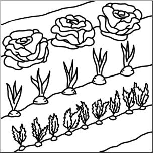 304x304 Clip Art Garden Bampw I Abcteach