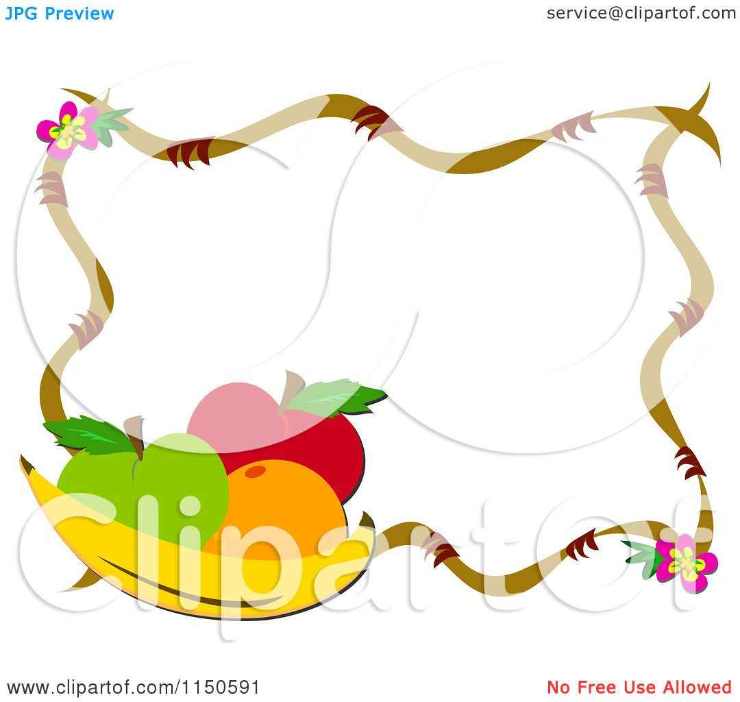 1080x1024 Fruit And Vegetable Border Clip Art, Vegetable Garden Clip Art