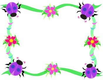 350x272 Unique Garden Clipart Border Garden Border Clip Art Clipart Best