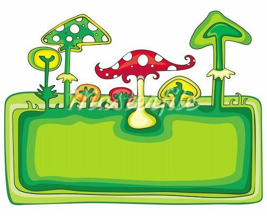 550x445 Border Garden Clipart