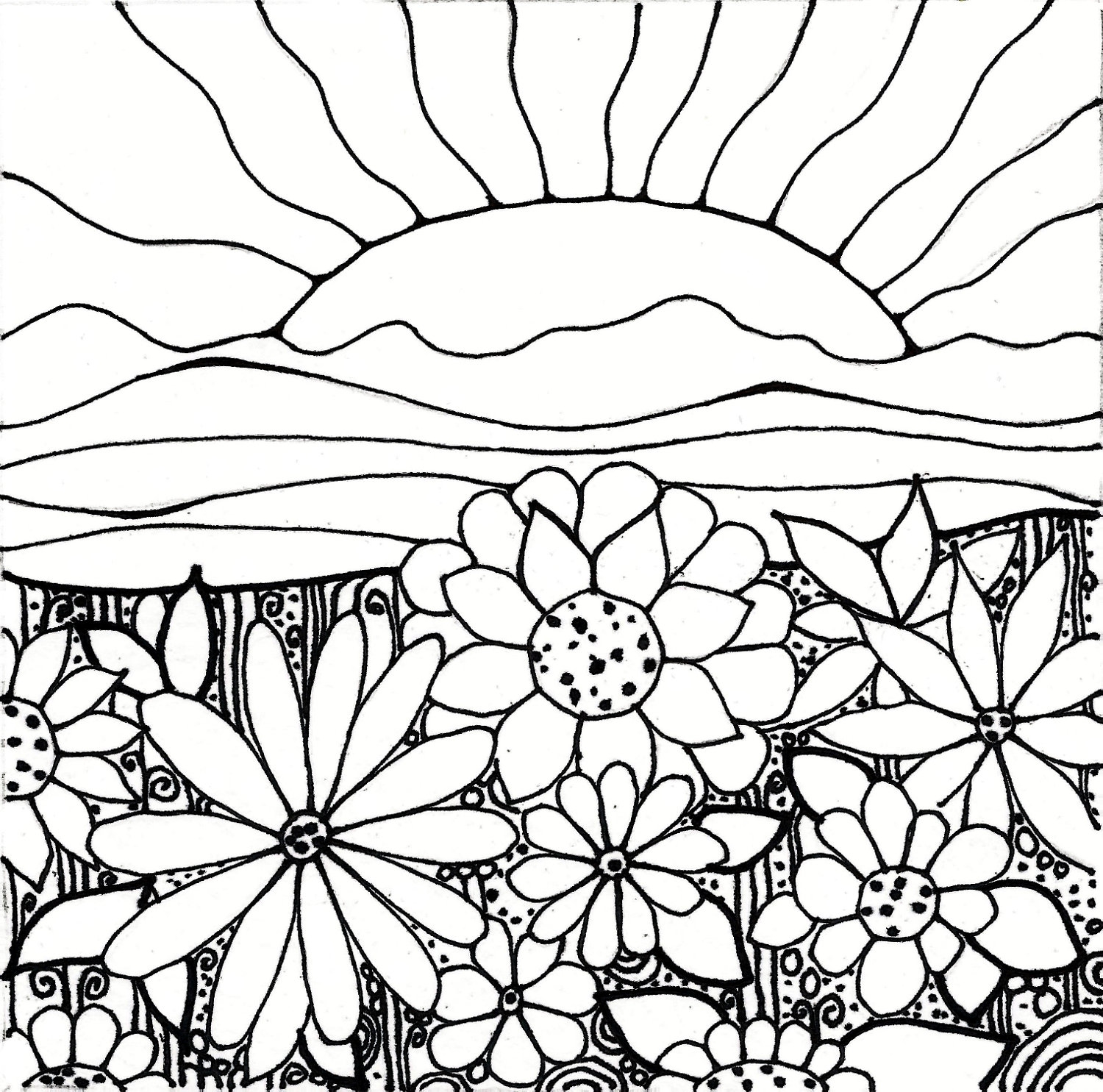 1500x1485 Download Coloring Pages. Garden Coloring Pages Garden Coloring