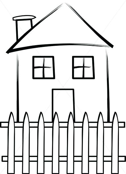 444x612 Fence Clipart Fence Clip Art Free Vector Garden Fence Clipart