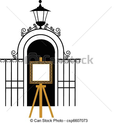 450x470 Gate Clipart Open School