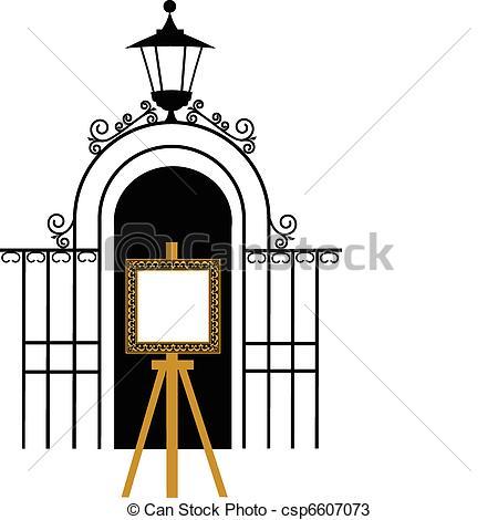 450x470 Gate Clipart Open School