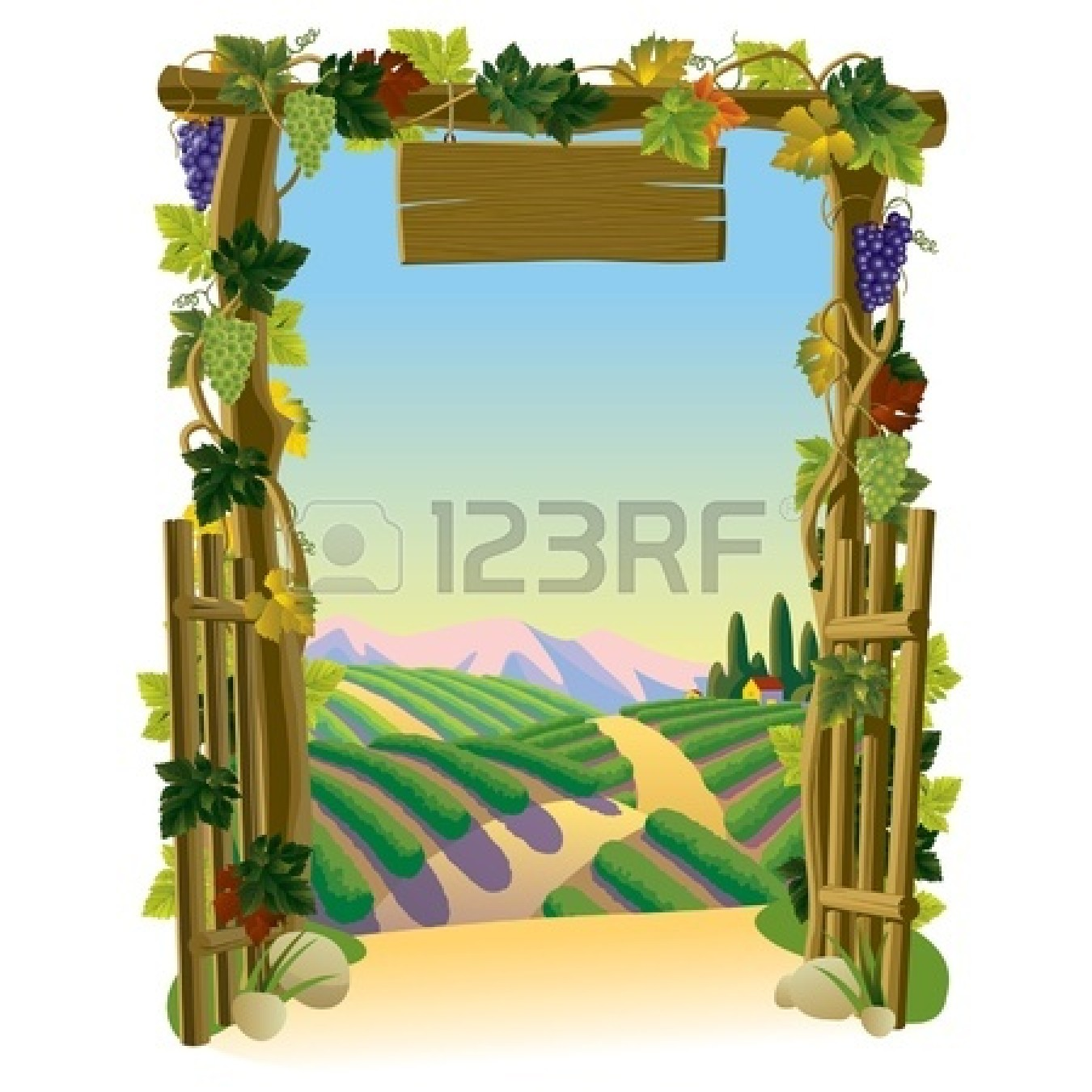 1350x1350 Zoo Gate Clipart