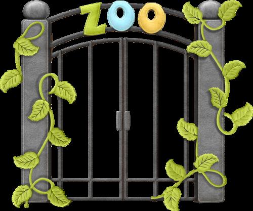 500x417 Cute Gate Clipart