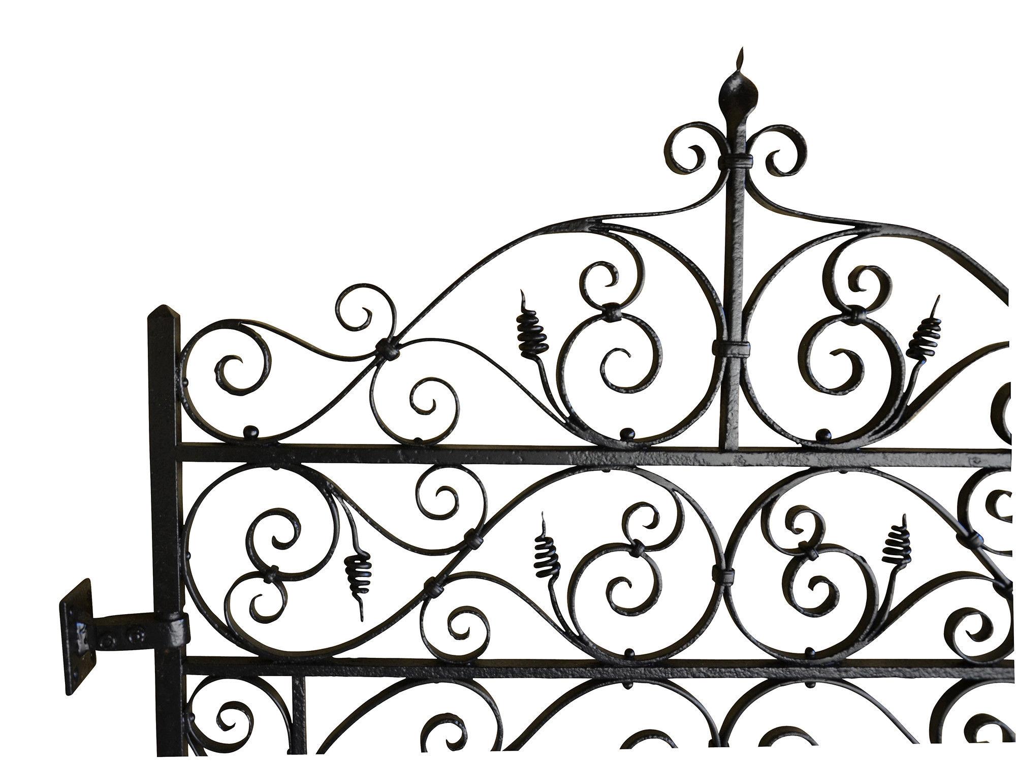 2000x1500 A Late 19th Century Wrought Iron Garden Gate