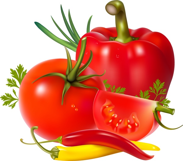 Garden Vegetable Clipart