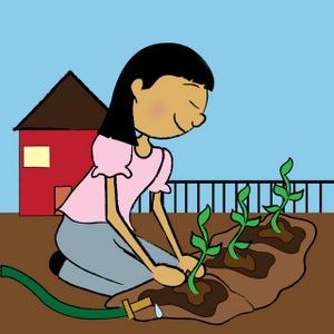 300x300 Gardening Clipart Image