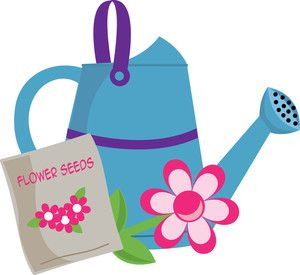 300x275 Watering Can Clip Art Gardening Clipart Image Clip Art