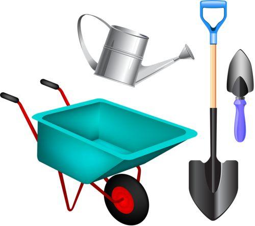 Gardening Tools Clipart