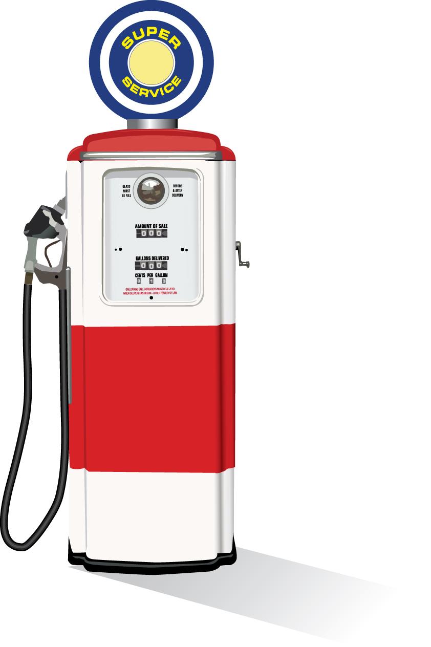 842x1264 Star Brand Replica Retro Fuel Pump Build. 101214 Retro Rides