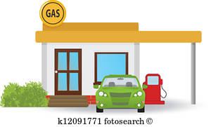 300x181 Gas Station Clip Art Eps Images. 10,930 Gas Station Clipart Vector
