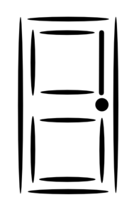 189x298 Front Door Clipart Black And White Clipart Panda