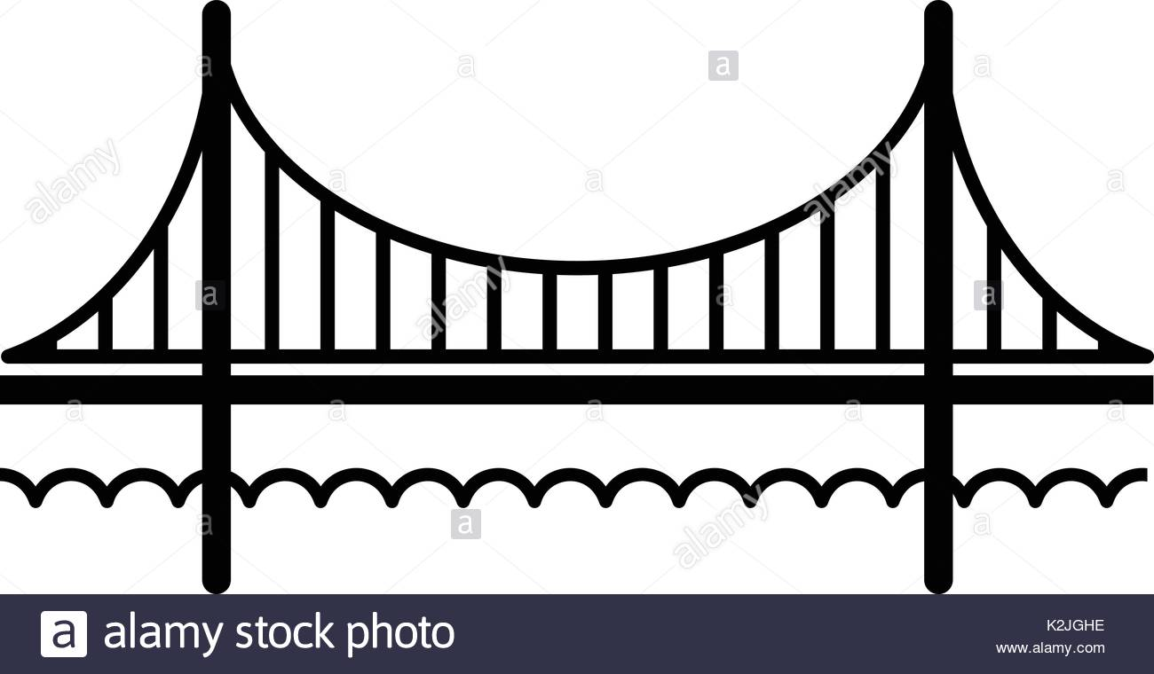 1300x760 Golden Gate Bridge Illustration Stock Photos Amp Golden Gate Bridge