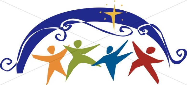 776x352 Christian Celebration Gathering Of The People Inspirational Clipart