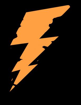 309x400 Lightning Bolt Outline Clipart Panda