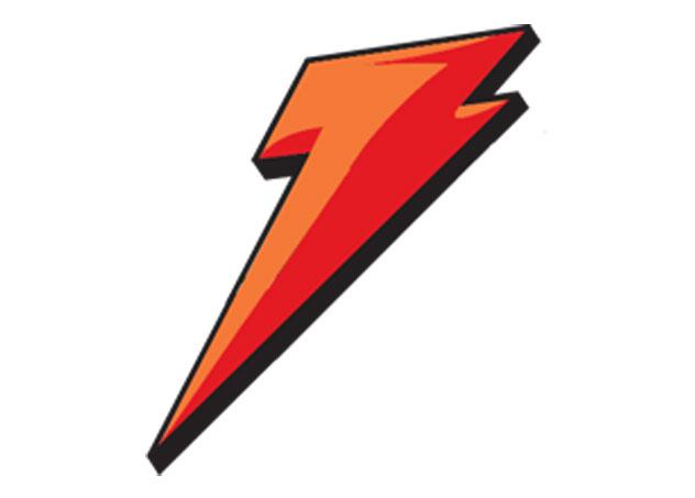 632x453 Red Lightning Bolt Symbol