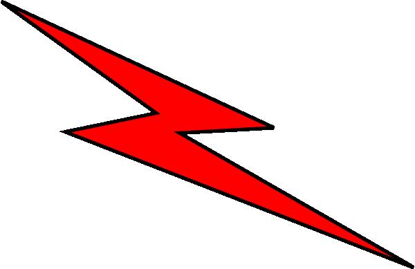 600x389 Red Lightning Bolt Symbol