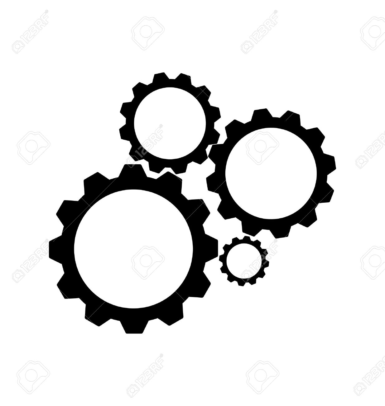 image relating to Gears Printable known as Gears Clipart Cost-free down load perfect Gears Clipart upon