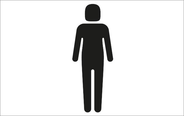 630x400 Gender Neutral Head Silhouette Person Clipart Free