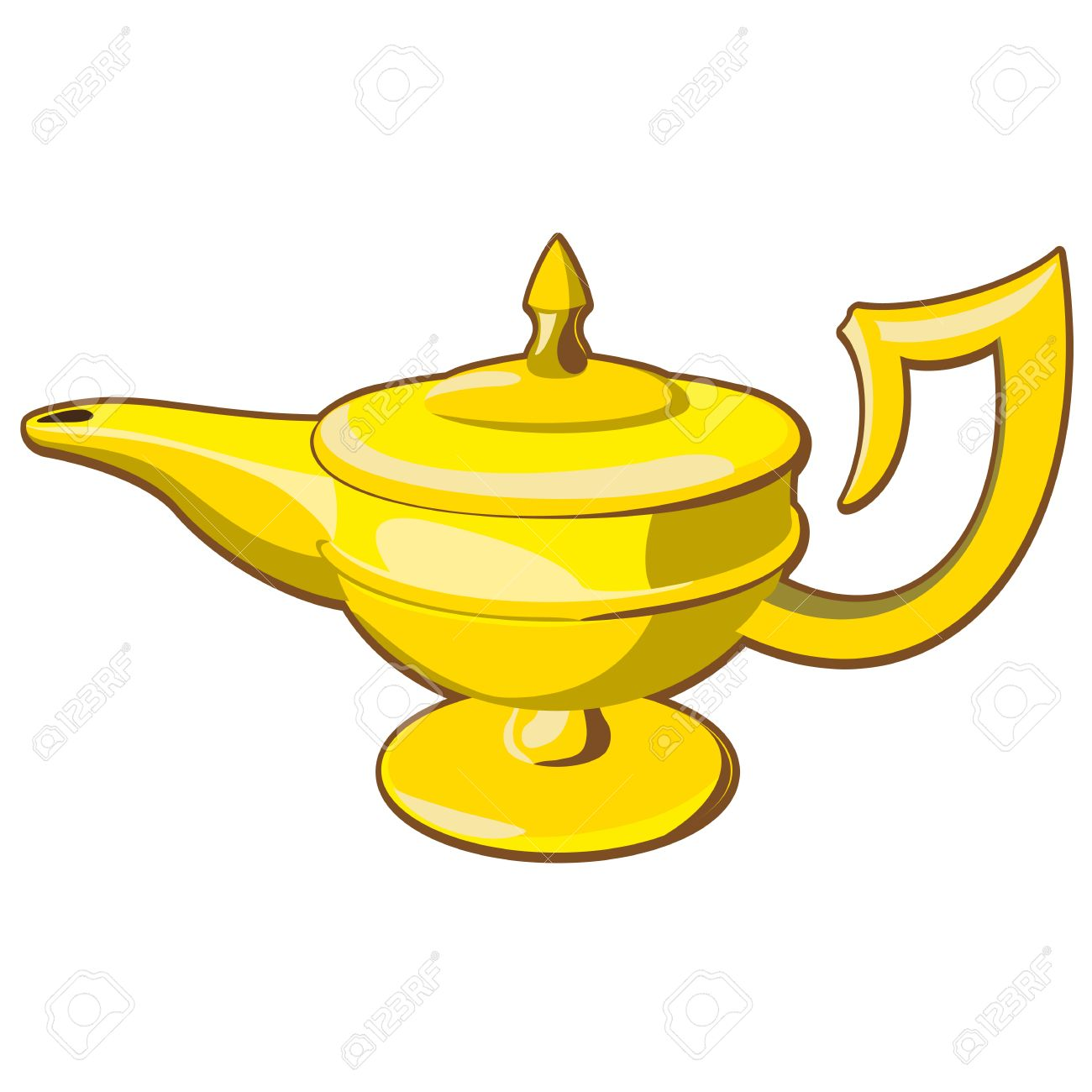 1300x1300 Genie Lamp Clipart Old Lamp