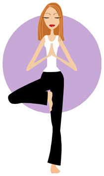 210x354 Gentle Yoga Clip Art Cliparts