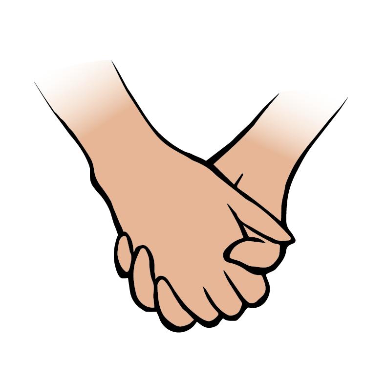790x791 Pair Clipart Quiet Hand
