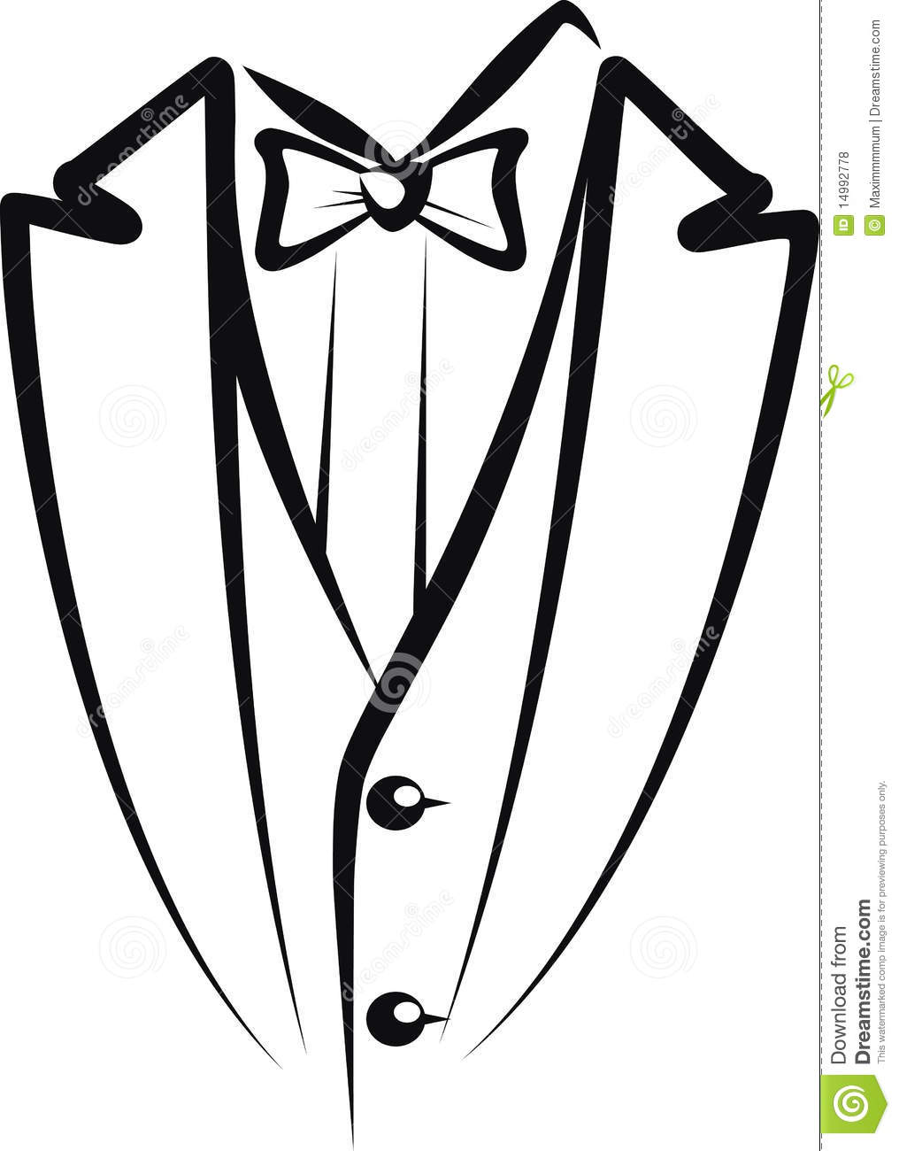 1016x1300 Tuxedo Clipart