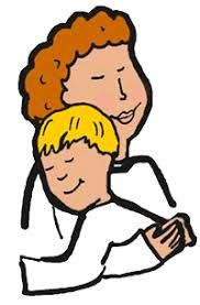 182x277 Clipart Friends Two Funny Boys In A Friendly Hug. More Clip