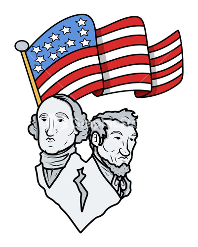 401x500 Abe Lincoln Clip Art George Washington Abraham Lincoln Clipartfest