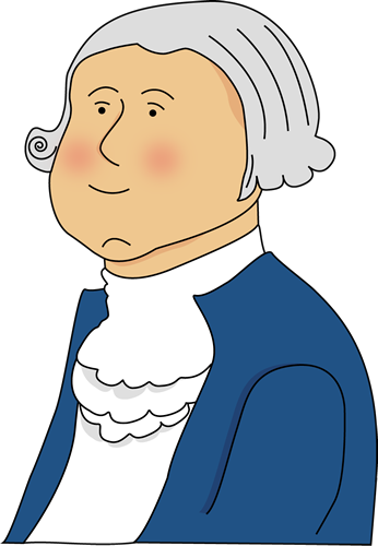 346x500 George Washington Clip Art