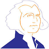170x170 George Washington Clip Art