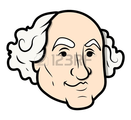 450x411 Abraham Lincoln Sculpture Cartoon Clip Art Vector Royalty Free
