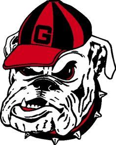 236x296 Football Bulldog Drawing Georgia Bulldogs Mascot Logo