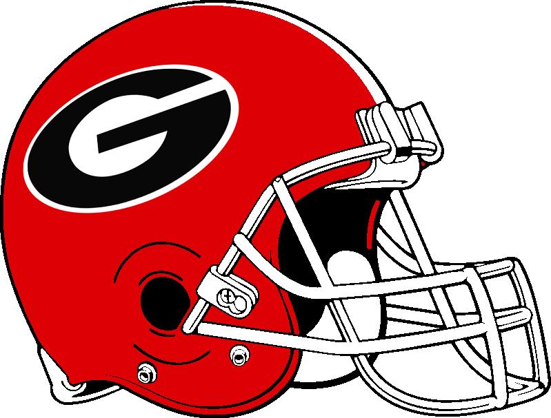 799x607 Helmet Clipart Georgia Bulldogs