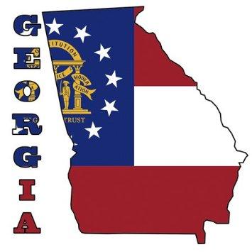 355x355 Clipart State Of Georgia