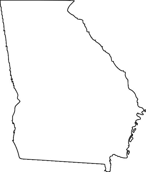 504x592 Georgia, White Clip Art