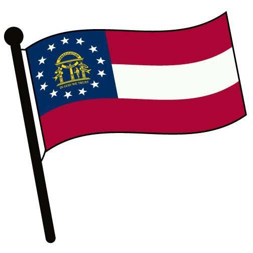 504x504 Georgia Waving Flag Clip Art