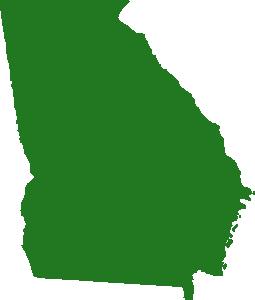 255x300 State Of Georgia Map Clip Art