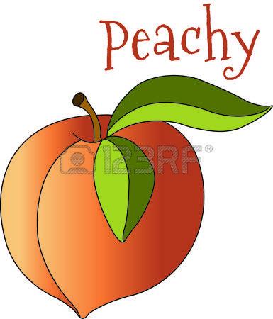 385x450 Peach Free Clipart