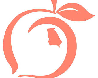 340x270 Peach Clipart Georgia Peach