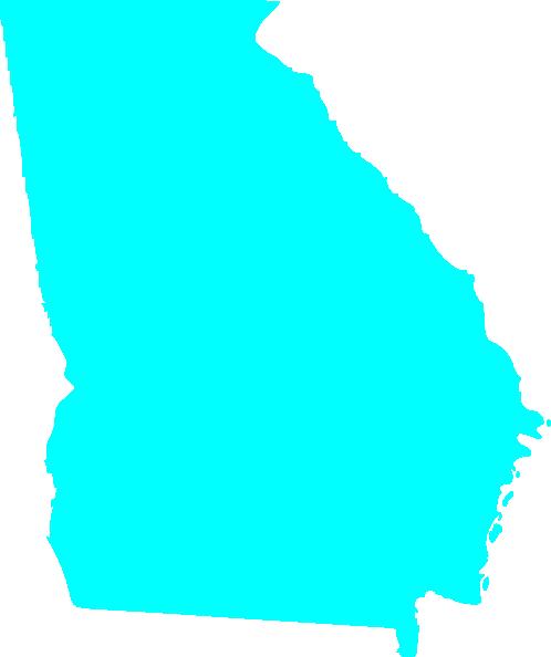 498x594 Clipart State Of Georgia