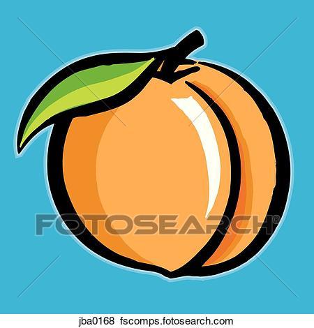 450x470 Stock Illustration Of Peach X26892496
