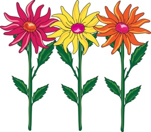 300x263 Flowers Clipart Image