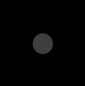 297x299 Black Gerber Daisy Clip Art