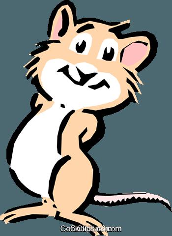 350x480 Cartoon Chipmunk Royalty Free Vector Clip Art Illustration